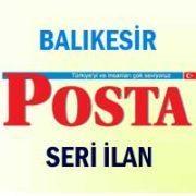 Balıkesir Posta iş ilanları