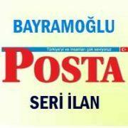 Bayramoğlu Posta iş ilanları