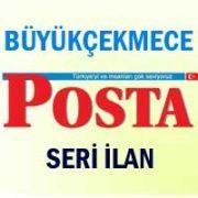Büyükçekmece Posta iş ilanları