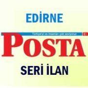 Edirne Posta iş ilanları