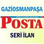 Gaziosmanpaşa Posta iş ilanları