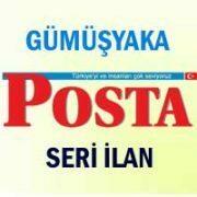 Gümüşyaka Posta iş ilanları
