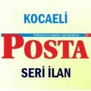 Kocaeli Posta iş ilanları