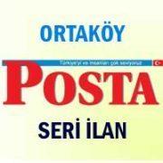 Ortaköy Posta iş ilanları