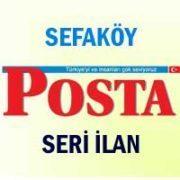 Sefaköy Posta iş ilanları