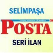 Selimpaşa Posta iş ilanları
