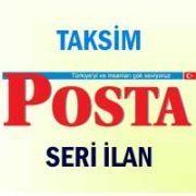 Taksim Posta iş ilanları