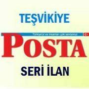 Teşvikiye Posta iş ilanları