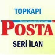 Topkapı Posta iş ilanları