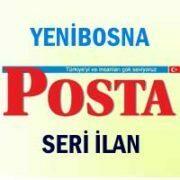 Yenibosna Posta iş ilanları