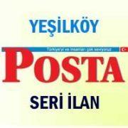 Yeşilköy Posta iş ilanları