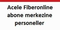 Fiberonline iletişim