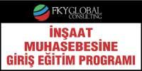 inşaat muhasebesine giriş eğitim programı