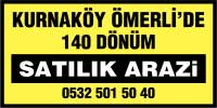 kurnaköy ömerli satılık arazi