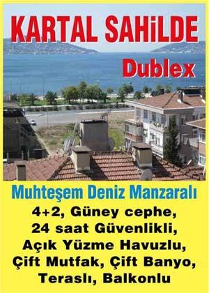 KARTAL SAHİLDE SATILIK DUBLEX