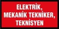 Elektrik mekanik tekniker teknisyen