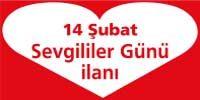 sevgililer günü ilanı