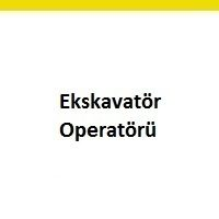 ekskavatör operatörü iş ilanları, ekskavatör operatörü iş ilanı, ekskavatör operatörü aranıyor, ekskavatör operatörü iş ilan sayfası