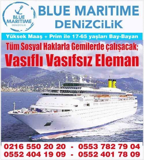denizcilik iş ilanları, vasıfsız eleman ilanı, istanbul vasıfsız iş ilanı