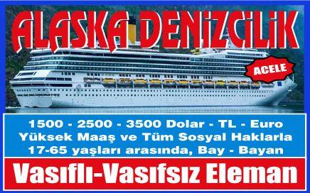 alaska deniz bugünkü gemi iş ilanları