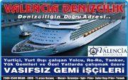 Gemi İş İlanları - Valencia Denizcilik İskenderun